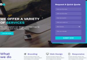 2594Creative Landing Page Design